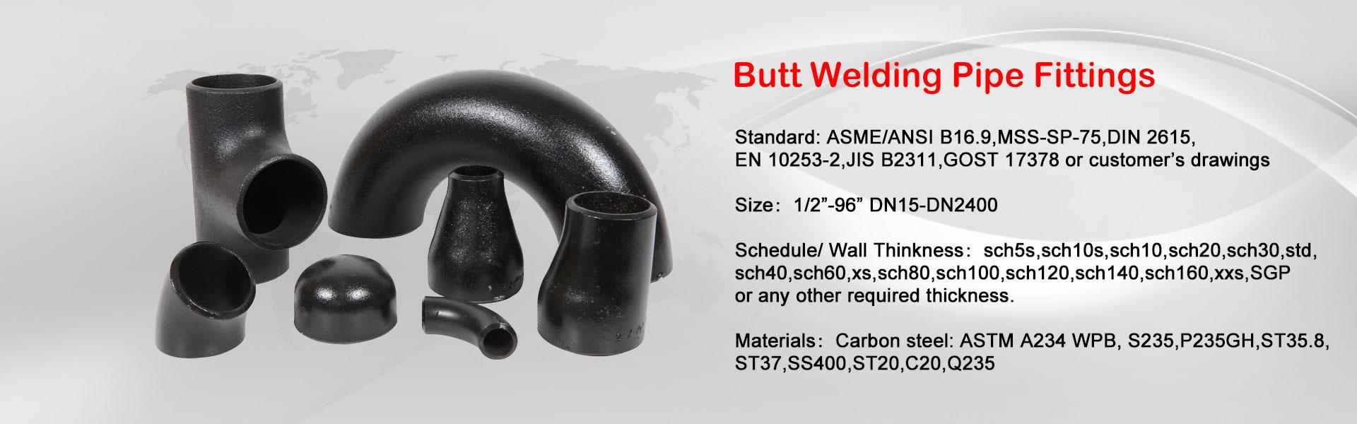 Butt-Welding-Pipe-Fittings
